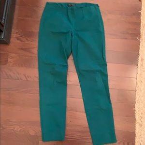 Theory green pants
